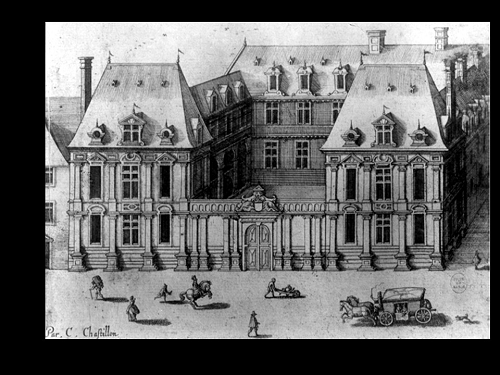 Construction de la nouvelle chapelle